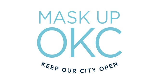 Oklahoma City has promoted masks as a way to slow the COVID-19 pandemic, in line with advice from public health experts. [City of Oklahoma City]