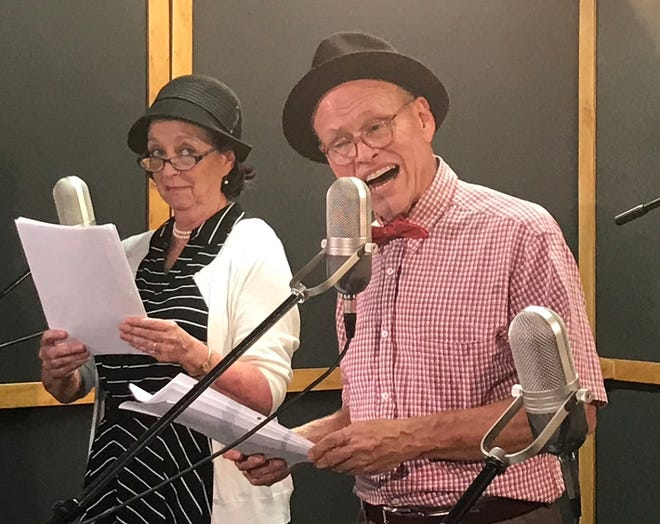 Mike Waugh and Lilli Bassett will reprise their roles as Fibber McGee and Molly in Carpenter Square Theatre's November live-stream production. [Photo provided]