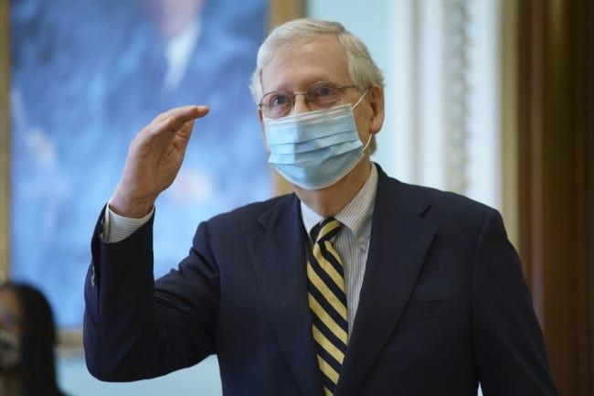 Senate Majority Leader Mitch McConnell, R-Ky. [AP Photo/J. Scott Applewhite]