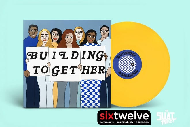 """The collaborative fundraising album """"Building Together,"""" which is bringing together several top Oklahoma independent musicians. [Cover art provided]"""