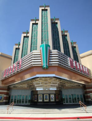 The Warren Theater in Midwest City, which closed with other movie theaters in response to the coronavirus pandemic, is one that did not reopen along with others. Now the Regal Theatres chain, of which the Warren is a part, is closing all of its theaters. [Doug Hoke/The Oklahoman]