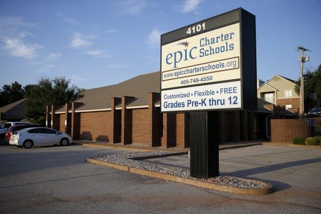 Epic Charter Schools in Oklahoma City, Wednesday, Aug. 21, 2019. [Bryan Terry/The Oklahoman]