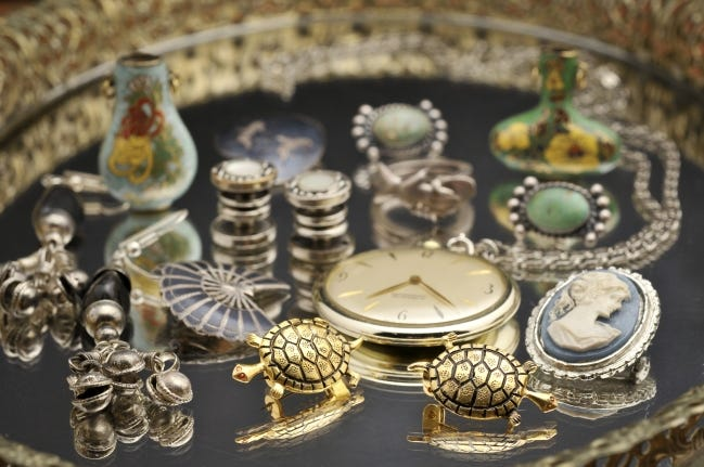 Got a stash of jewelry or other items that you need to let go of? Don't overlook pawn shops. [Metro Creative Connection]
