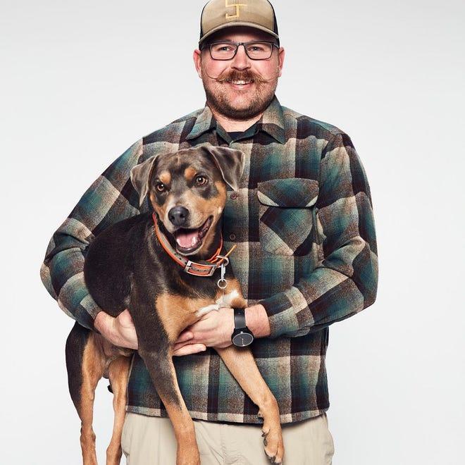 "Chisum Joe Johnson and his dog Kepo, of Cogar, will among the teams on the Amazon Original series ""The Pack."" [Amazon photo]"