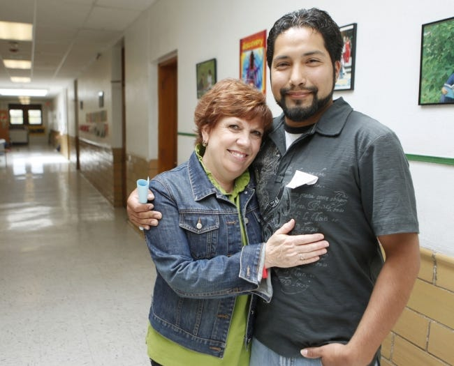 Sally Goin and Miguel Rayos [The Oklahoman Archives]