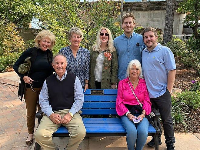 Beth Hammack, Lee Ann Fairlie, Reynolds Hammack Wallis, Jennings Hammack, Templin Hammack, back, Jim Hammack, Sally Lamprich, seated. Terri Cooper /PHOTO