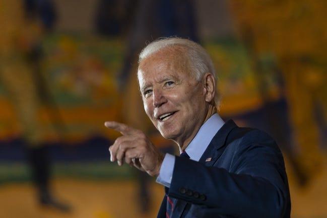 Democratic presidential candidate former Vice President Joe Biden. [AP Photo/Carolyn Kaster]