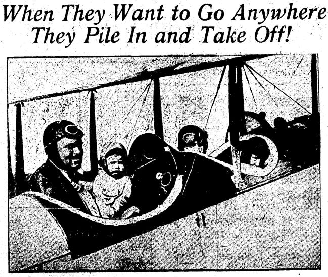 Burrell Tibbs and his family were pictured in The Daily Oklahoman in October 1924.
