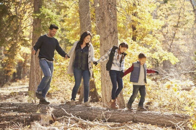 The backyard, a nearby park or winding walking trails can become an outdoor classroom for at-home learning. [METRO CREATIVE CONNECTION]