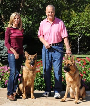 Becky and Barry Switzer