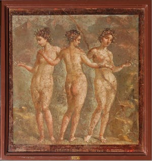 """The Oklahoma City Museum of Art will be the exclusive North American venue for the exhibition """"The Painters of Pompeii: Roman Frescoes from the National Archaeological Museum, Naples."""" [Photo provided by Archivio Fotografico del Museo Archeologico Nazionale di Napoli]"""