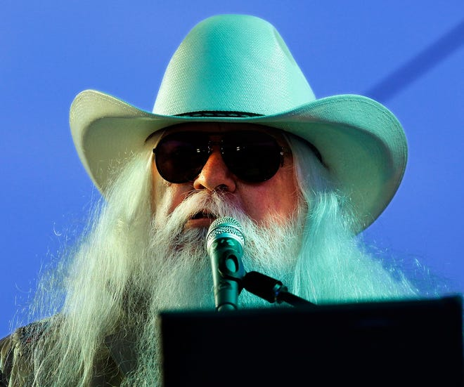 Leon Russell performs at the Oklahoma State Fair Sep. 16, 2011. [The Oklahoman Archives]