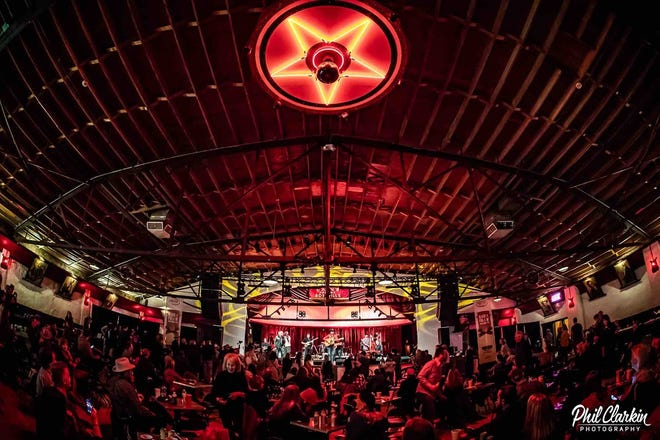 A crowd attends the annual Rock 'n Folk 'n Chili Cook-off benefiting nonprofit Horton Records at Cain's Ballroom in Tulsa. The event will have a different format this year due to the coronavirus pandemic. [Phil Clarkin Photography]