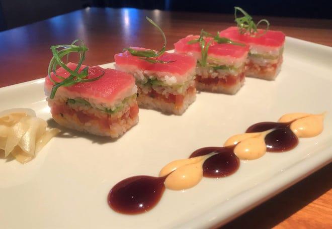 Spicy Tuna Osaka-style from Jimmy B's Culinary + Krafted. [Dave Cathey PHOTOS/The Oklahoman]