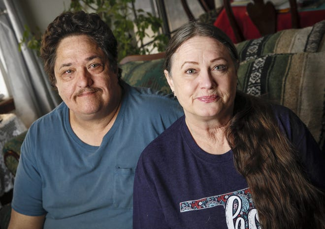Woody and Mary Perryman met at a support group for relatives of homicide victims. [Nate Billings/for The Oklahoman]