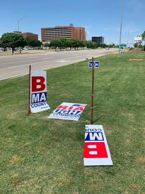 County Commissioner Brian Maughan is offering a reward for information on those slashing his campaign signs. [Photo provided]