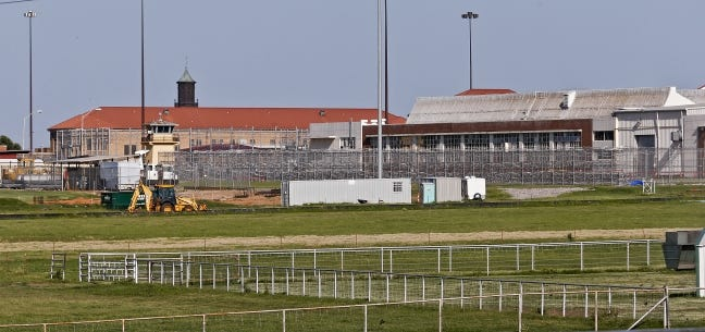 The federal prison in El Reno is pictured in 2015. [Chris Landsberger/The Oklahoman]