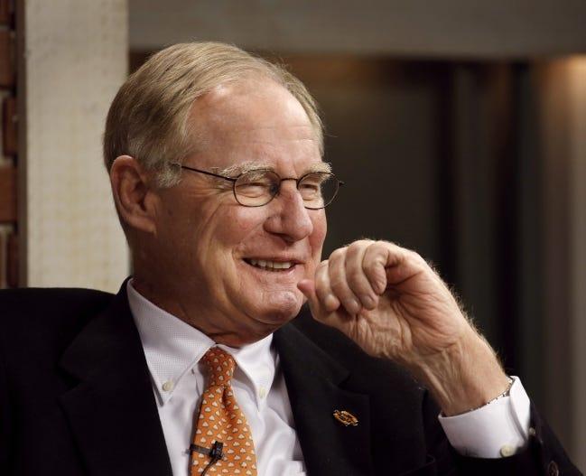 Oklahoma State University President Burns Hargis