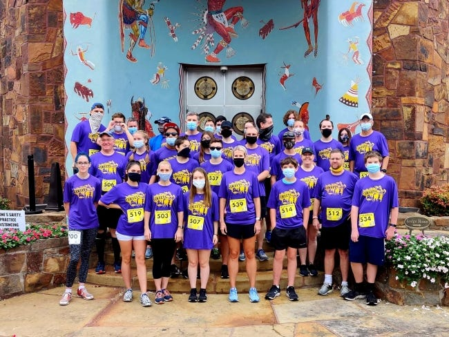 Run the Streets, started in 2009, recently completed its 23rd season. The running program in Bartlesville pairs at-risk and in-trouble youth with adult mentors, and because of its successes, it is being replicated in Oklahoma City. [RUN THE STREETS]