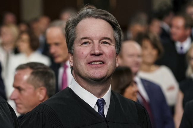 Supreme Court Associate Justice Brett Kavanaugh
