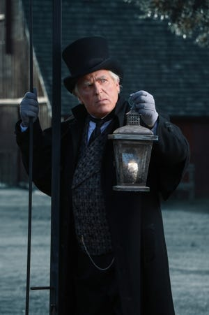 """Jonathan Beck Reed will play Ebenezer Scrooge in Lyric Theatre's 2020 production of """"A Christmas Carol,"""" which has been moved outdoors to Harn Homestead in light of the coronavirus pandemic. The show will have two rotating casts, and Reed will lead the Ivy Cast. [James Michael Avance photo]"""