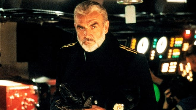 """Sean Connery stars in """"The Hunt for Red October."""" [Paramount Pictures}"""