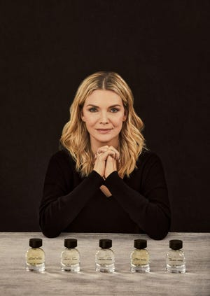 Michelle Pfeiffer has added new personal care and home fragrances to her Henry Rose brand.