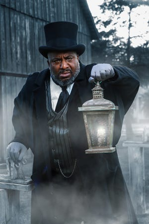 """W. Jerome Stevenson will play Ebenezer Scrooge in Lyric Theatre's 2020 production of """"A Christmas Carol,"""" which has been moved outdoors to Harn Homestead in light of the coronavirus pandemic. The show will have two rotating casts, and Stevenson will lead the Holly Cast. [James Michael Avance photo]"""