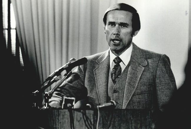 In his introductory news conference as OU men's basketball coach in April of 1980, Billy Tubbs promised that the Sooners would contend for the NCAA title. Tubbs, who led OU to the 1988 final, died Sunday at age 85. Tubbs won a school-record 333 games and made nine NCAA tournament appearances in 14 seasons at OU. [OKLAHOMAN ARCHIVES]