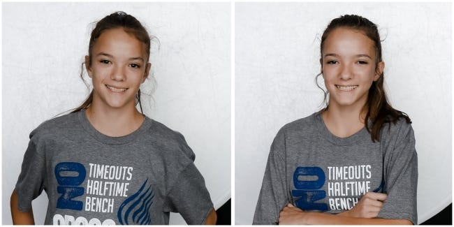 Autumn Hickok and twin sister Leah Hickok have become one of the best tandems in Oklahoma high school cross country and will lead Noble at the Class 5A state meet Wednesday at Edmond Santa Fe. [DOUG HOKE/THE OKLAHOMAN]
