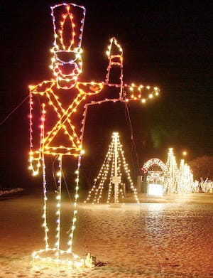 Midwest City has canceled its Holiday Lights Spectacular due to ice storm damage. [The Oklahoman Archives photo]