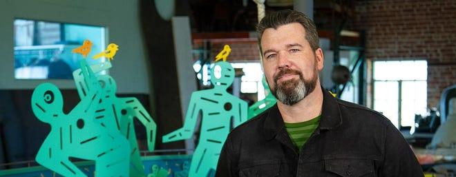 """OKC artist Joe Slack appears on Thursday's episode of """"Gallery America."""" [Provided photo]"""