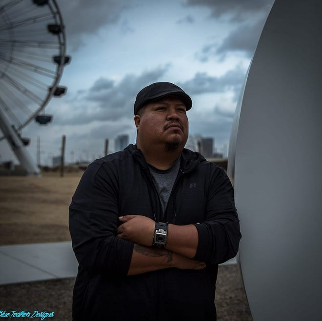 """Oklahoma-based Native American filmmaker Mark Williams will show his short film """"Warrior Coach"""" at the sixth annual Holba' Pisachi' Native Film Festival, which is going online this weekend in response to the coronavirus pandemic. [Photo provided]"""