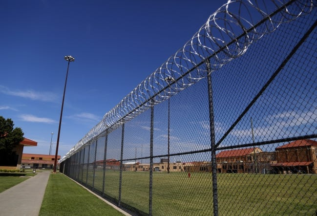 The El Reno Federal Correctional Institution. [Sarah Phipps, The Oklahoman]