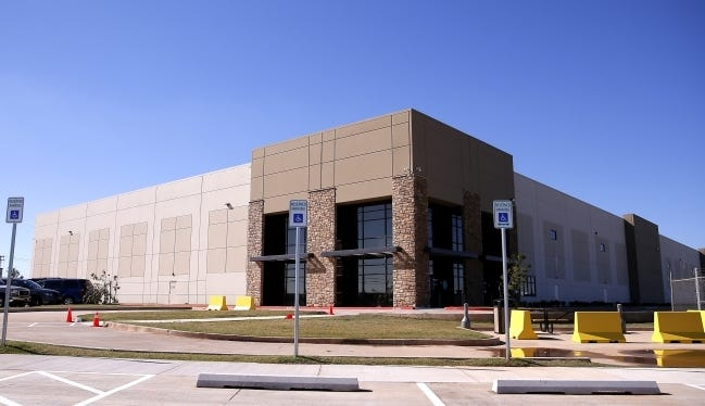 Amazon took occupancy of a leased 120,000-square-foot property at 6101 SW 44, for a delivery center, on Sept. 21. The landlord's $15.2-million purchase of the property was the biggest industrial deal in Oklahoma City in the third quarter, according to NAI Sullivan Group. [SARAH PHIPPS/THE OKLAHOMAN ARCHIVES]