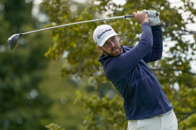 Former Oklahoma State golfer Matthew Wolff will play in his first Masters tournament Thursday in Augusta, Ga. [AP Photo/Charles Krupa]