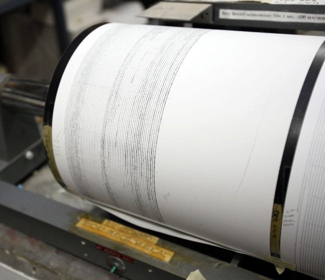 Oklahoma's state seismologist has developed a software program to analyze the some of smallest earthquakes measurable by using artificial intelligence. [THE OKLAHOMAN ARCHIVES]