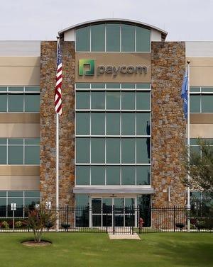 Paycom's Oklahoma City headquarters. [THE OKLAHOMAN ARCHIVES]
