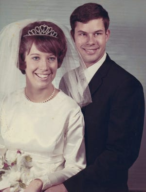 50 Years: Connie and Mike VonTungeln were married Nov. 25, 1970, in Goodwell.