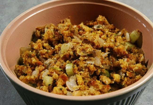 Thanksgiving just isn't the same without cornbread dressing. [The Oklahoman Archives]