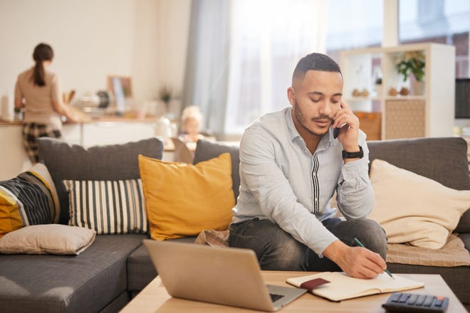 The emergence of virtual offices and working from home has given cyber criminals new attractive avenues to exploit. [STATEPOINT PHOTO]