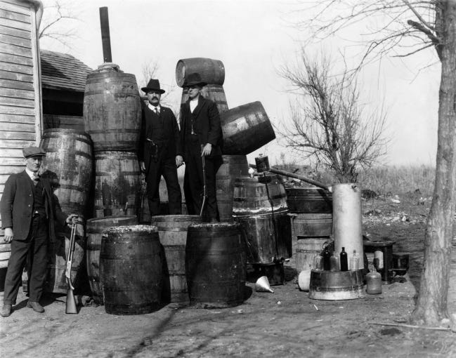"""The Oklahoma History Center will feature 25 black and white, prohibition-era photographs in its new exhibit, """"Born Dry: Prohibition in Oklahoma."""" [PHOTO PROVIDED]"""