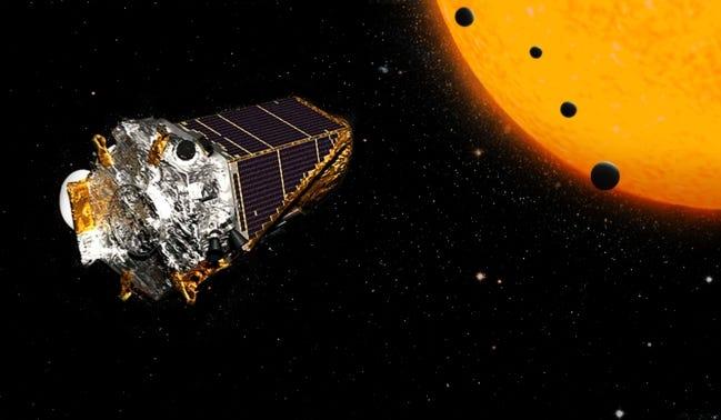 NASA's Kepler Planet Finder telescope. [NASA]