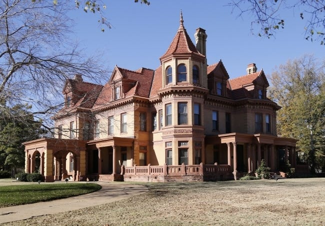The historic Henry Overholser Mansion, 405 NW 15, is now the Henry and Anna Overholser Mansion, after the Oklahoma Historical Society Board of Directors made the change. [THE OKLAHOMAN ARCHIVES]