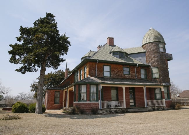 The A.J. Seay Mansion in Kingfisher will now be known as Horizon Hill. [THE OKLAHOMAN ARCHIVES]