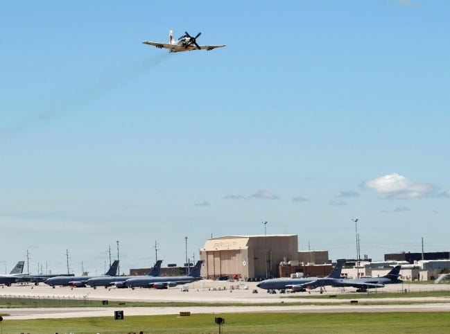The $740 billion defense bill approved by the House on Tuesday will authorize funding for operations at Tinker Air Force Base and other military installations. [The Oklahoman Archives]