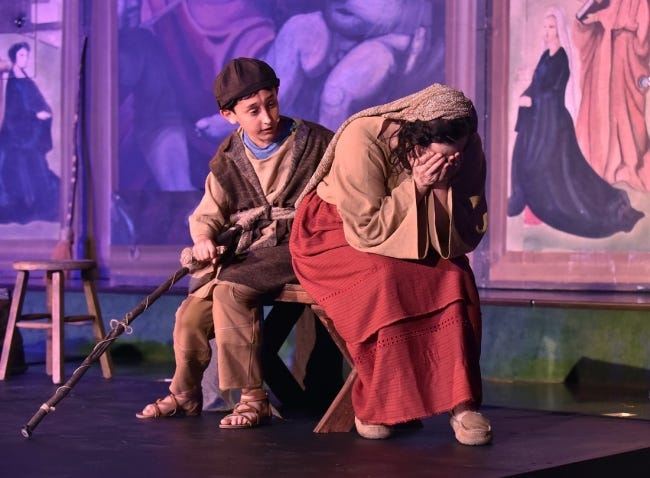 """Painted Sky Opera's production of """"Amahl and the Night Visitors"""" returns for its third year at Freede Little Theatre at Civic Center Music Hall. [Photo provided]"""