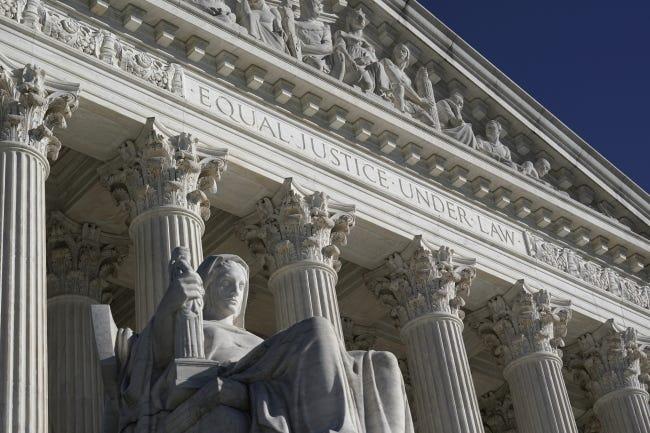 The Supreme Court in Washington, D.C. [AP Photo/J. Scott Applewhite]