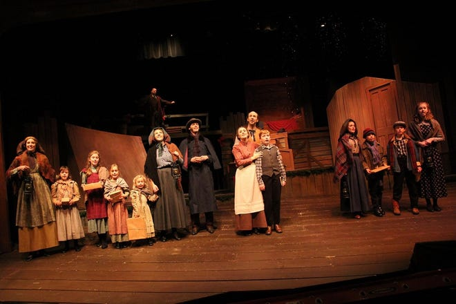 """Guthrie's Pollard Theatre is offering a virtual production of its signature holiday show, """"A Territorial Christmas Carol."""" [Photo provided]"""