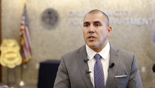 Oklahoma City Deputy Police Chief Paco Balderrama has been named police chief in Fresno, California. [The Oklahoman Archives]